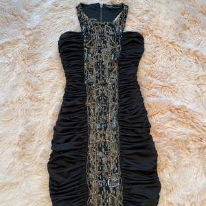 Bebe Addiction Mini dress with crystals